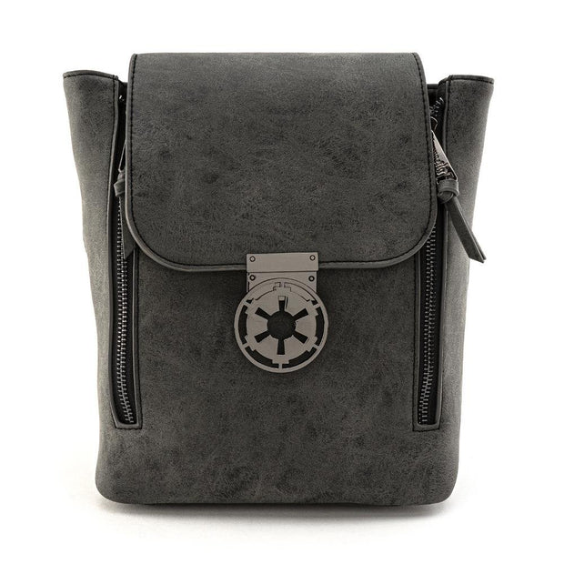 Loungefly x Star Wars Imperial Convertible Mini Backpack - FRONT