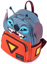 Disney Lilo & Stitch Experiment 626 Cosplay Mini Backpack
