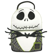 Loungefly x Nightmare Before Christmas Jack Skellington Cosplay Mini Backpack - FRONT