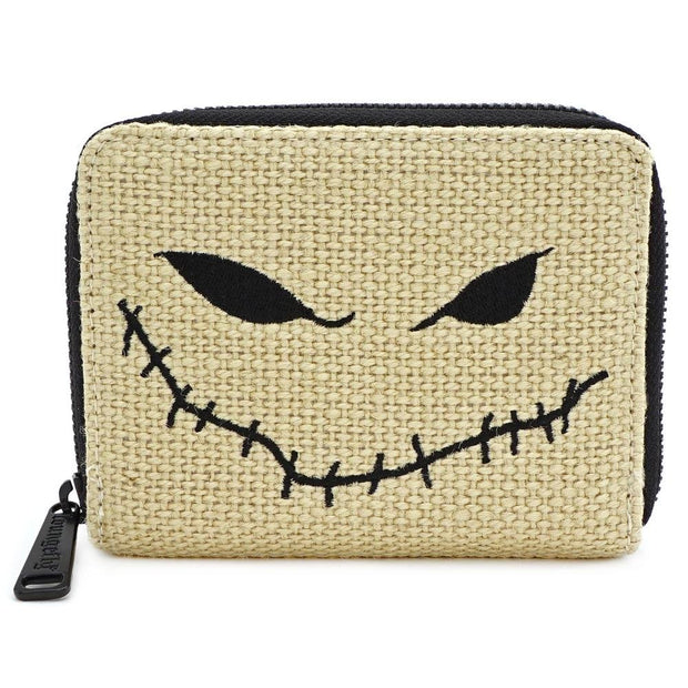 Loungefly x Nightmare Before Christmas Oogie Boogie Burlap Wallet - FRONT