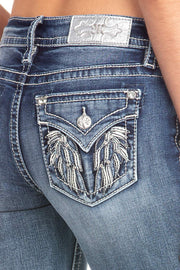 Heart Warming Straight Jeans