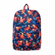 Loungefly x Disney Aladdin Iago Print Nylon Backpack - FRONT