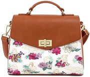 Disney Princess Floral Allover Print Crossbody