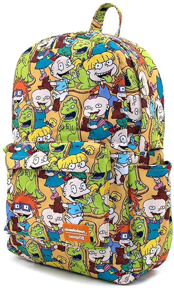 Nickelodeon Rugrats Allover Print Nylon Backpack