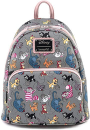 Disney Cats Allover Print Mini Backpack