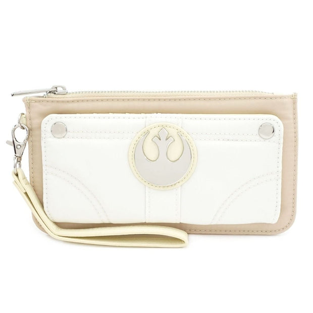 Loungefly x Star Wars Princess Leia Flap Wallet - FRONT