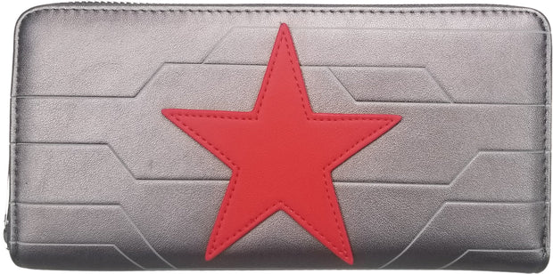 Marvel Winter Soldier Cosplay Zip-Around Wallet