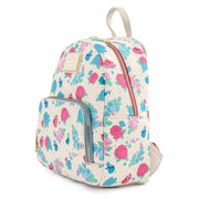 Disney Sleeping Beauty Floral Fairy Godmother Allover Print Mini Backpack - Side Profile