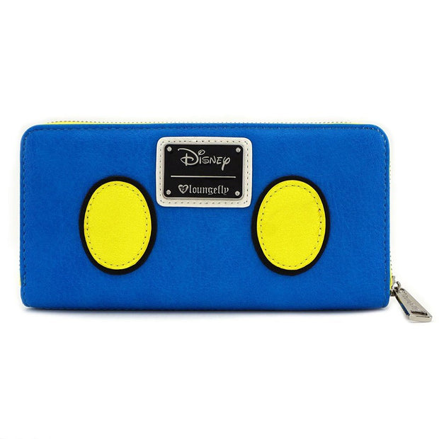 Loungefly x Disney Donald Duck Zip-Around Wallet - BACK
