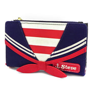 LOUNGEFLY X STRANGER THINGS SCOOPS AHOY COSPLAY CANVAS WALLET - SIDE
