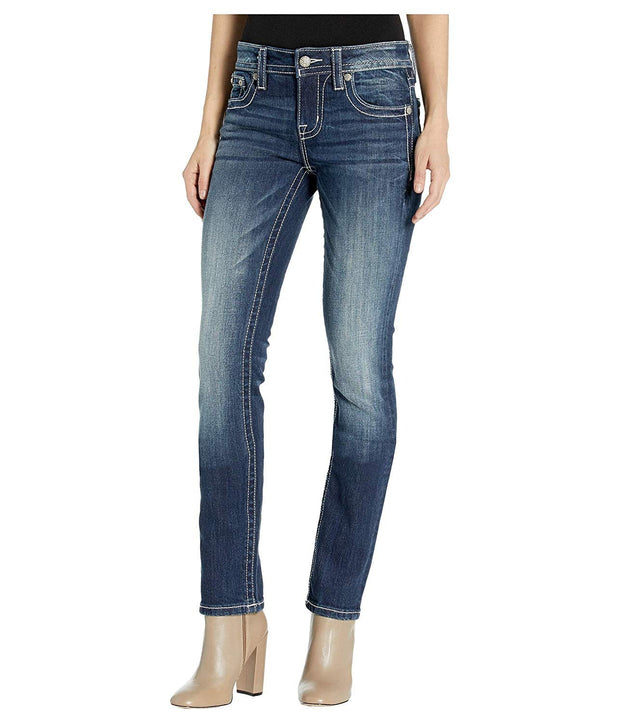 Stitched Love Straight Jeans