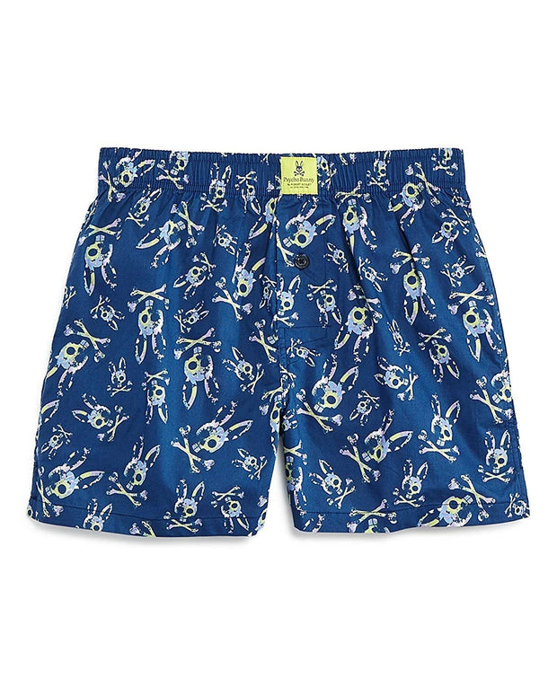 Mens Printed Woven Boxers