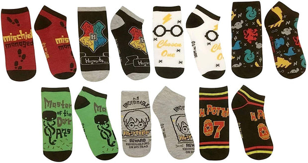 Harry Potter Week of Socks Gift Box