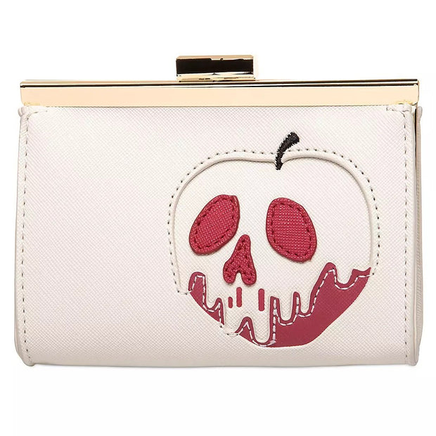 Loungefly x Disney Snow White Just One Bite Poison Apple Wallet - FRONT
