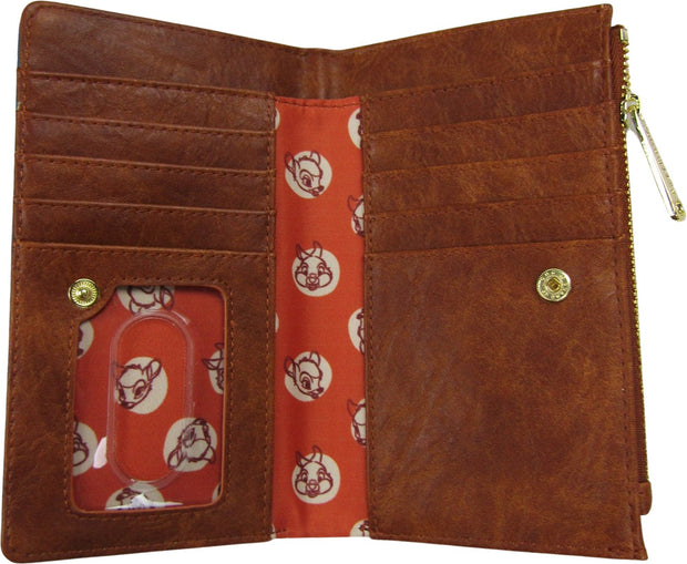 707 Street Exclusive Disney Bambi Floral Allover Print Wallet
