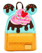 Disney Mickey & Minnie Sweets Ice Cream Mini Backpack - front