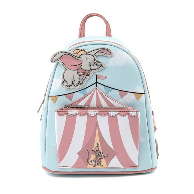 Disney Dumbo Flying Circus Tent Mini Backpack - Front