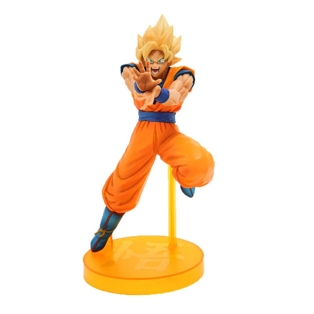 Dragon Ball Z The Android Battle with Dragon Ball Fighterz Super Saiyan Son Goku Figure