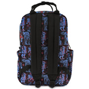LOUNGEFLY X STAR WARS EMPIRE STRIKES BACK 40TH ANNIVERSARY AOP SQUARE NYLON BACKPACK - BACK
