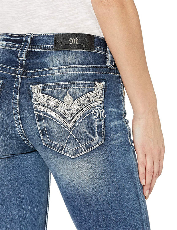 Cross My Mind Boot Cut Jeans