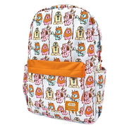 LOUNGEFLY X STAR WARS PASTEL YUB NUB EWOK AOP NYLON BACKPACK - SIDE