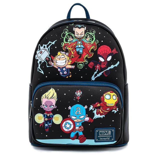 Marvel Skottie Young Chibi Group Mini Backpack