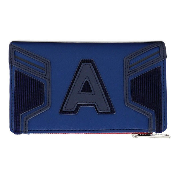 Disney Marvel Captain America Endgame Hero Flap Wallet