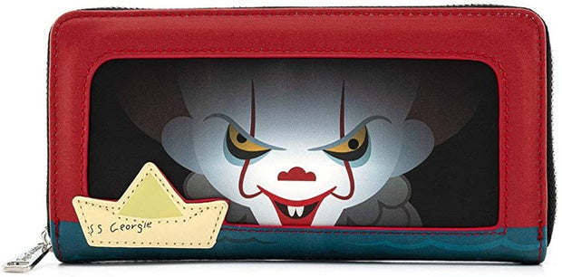 It Pennywise Sewer Scene Zip-Around Wallet