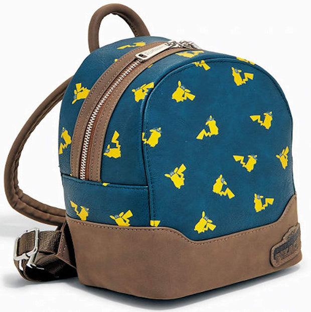 Pokemon Detective Pikachu Allover Print Mini Backpack