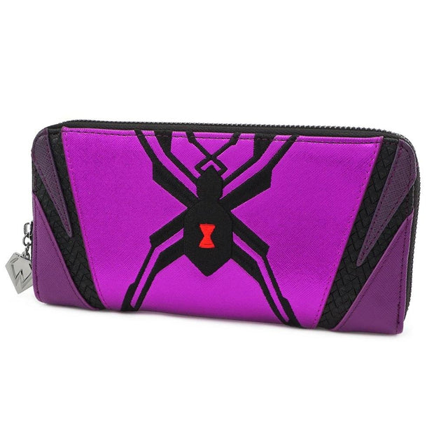 LOUNGEFLY X OVERWATCH WIDOWMAKER COSPLAY ZIP AROUND WALLET - SIDE