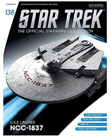 Star Trek The Next Generation U.S.S. Lantree NCC-1837