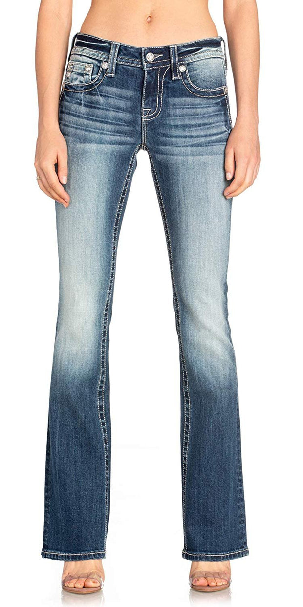Bright Spirits Bootcut Jeans