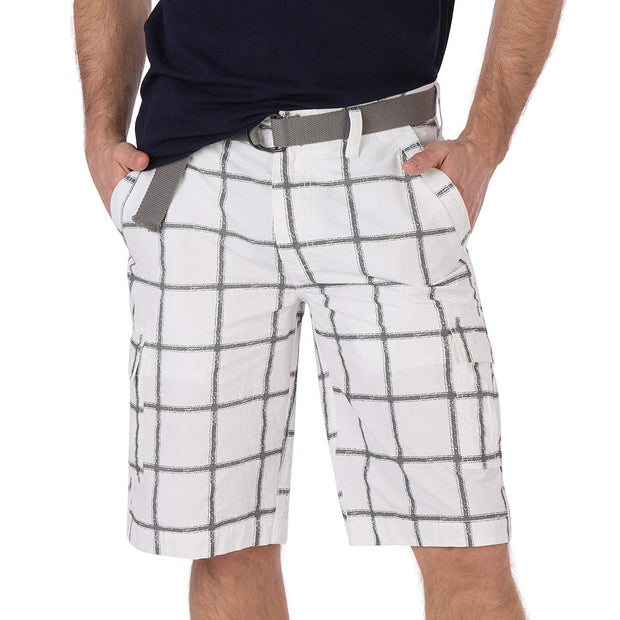 Legacy Windowpane Cargo Short