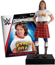 Hero Collector WWE Championship Collection - Rowdy Roddy Piper with Magazine Issue 30