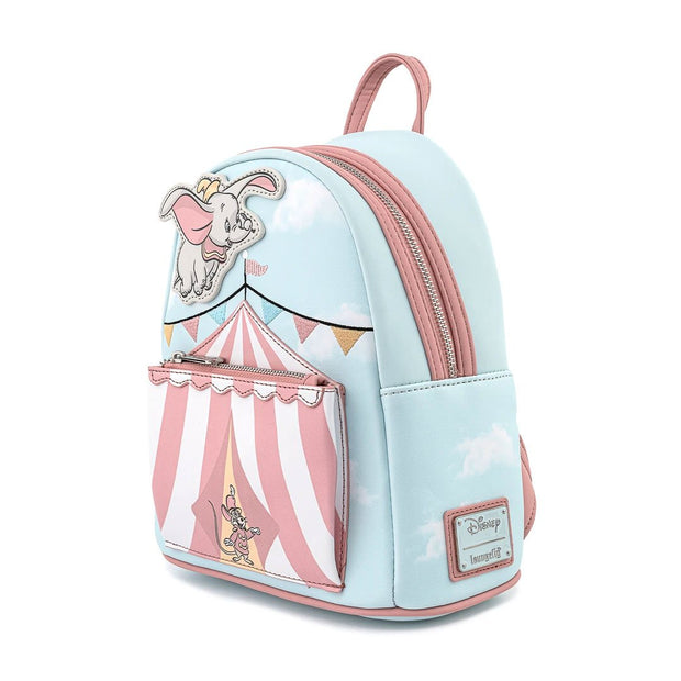Disney Dumbo Flying Circus Tent Mini Backpack - Side Profile