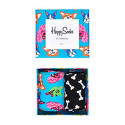 Dog Socks Gift Box Set - 2-Pack