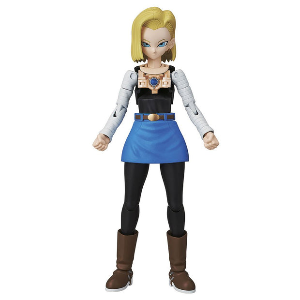 Tamashii Nations Dragon Ball Android 18 (New Pkg Ver), Bandai Spirits Figure-riseStandard