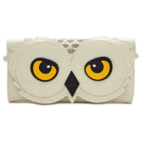 Loungefly x Harry Potter Compatible Hedwig Owl Tri-Fold Wallet - FRONT