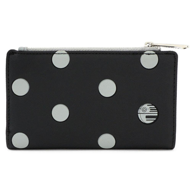 Loungefly x Star Wars Polka Dot Death Star Patterned Wallet - BACK
