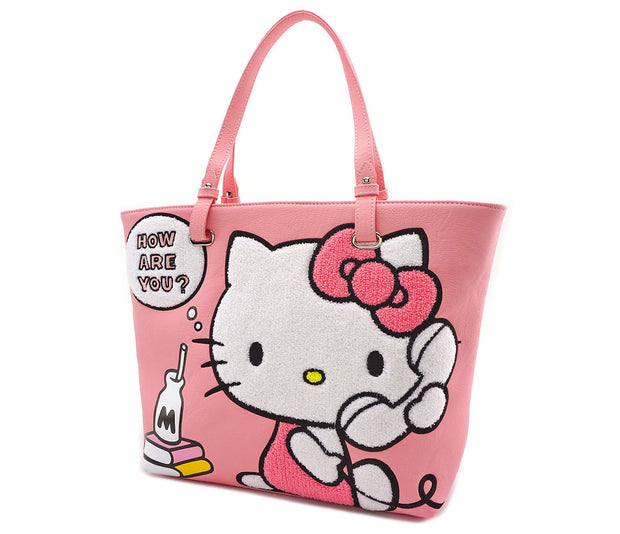 Loungefly x Hello Kitty Telephone Tote Bag - SIDE