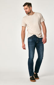 Marcus Regular Rise Slim Straight Jeans