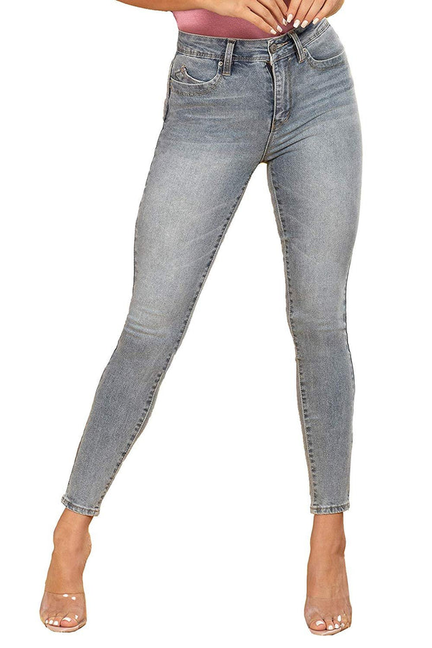 Junior Wannabettabutt Vintage Dream High-Rise Skinny Jean