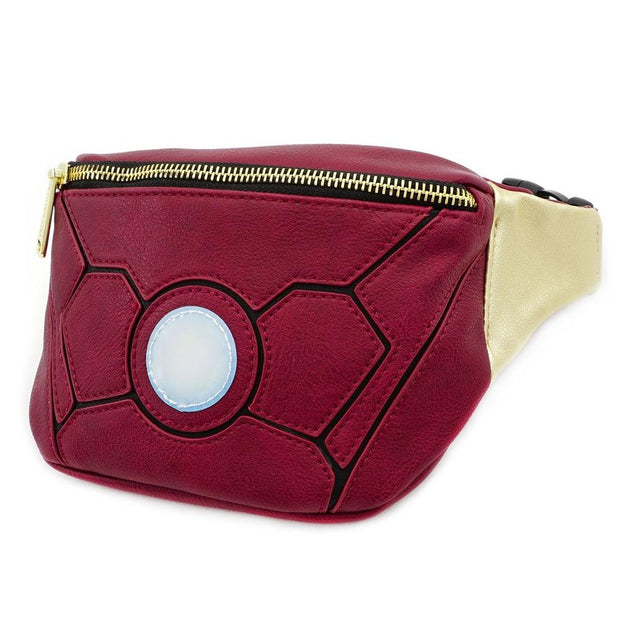 Loungefly x Marvel Iron Man Waist Bag - SIDE