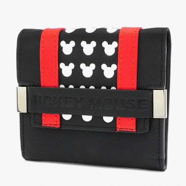 Loungefly x Disney Mickey Mouse Flap Mini Wallet - SIDE
