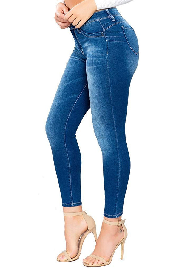 Junior Luxe Lift High-Rise Denim Ankle Jean