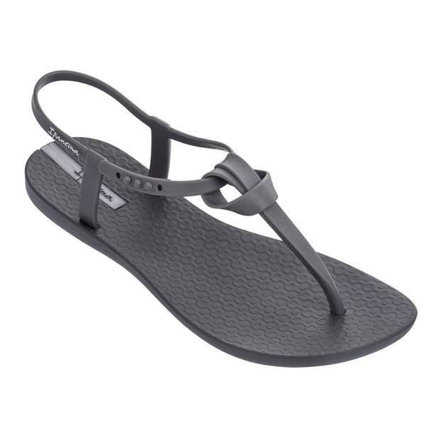 IPANEMA WOMEN'S ELLIE T-STRAP SANDALS - GREY