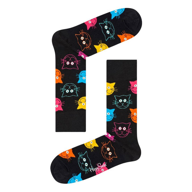 Cat VS Dog Socks Gift Box Set - 2-Pack