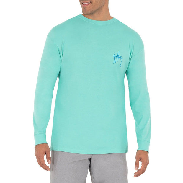 Sailfish Sunset Long Sleeve T-Shirt