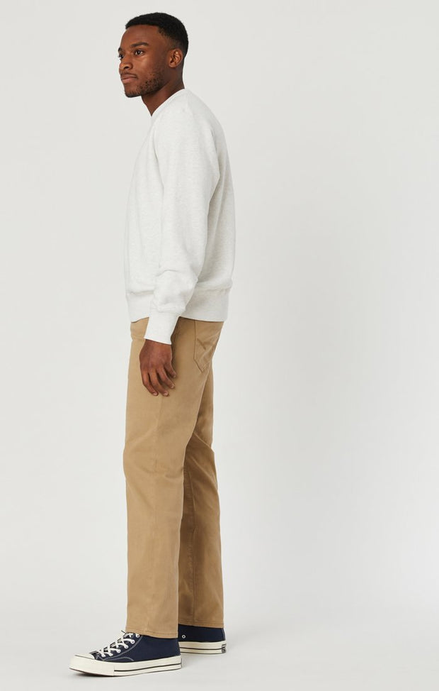 Zach Regular Rise Straight Leg Pants