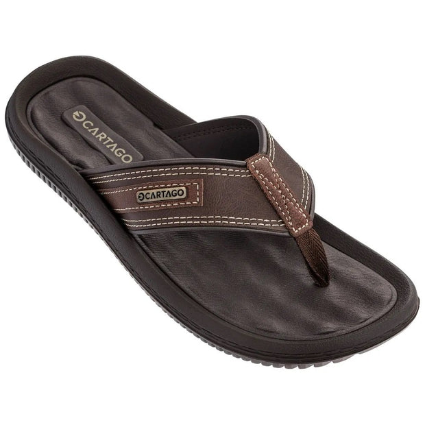CARTAGO DUNAS II MEN'S SANDALS - BROWN FRONT